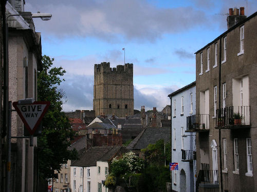 Richmond Castle from Willance House